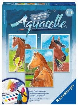 Horses (Aquarelle Midi) Horses Arts and Crafts