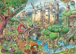 Fairy Tales Dragons Jigsaw Puzzle