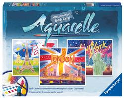 World Cities (Aquarelle Maxi) Cities Arts and Crafts
