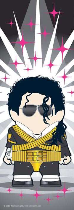 Michael Jackson (Weenicons) Famous People Panoramic