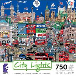 London (City Lights) London Jigsaw Puzzle