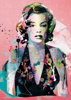 Marilyn Contemporary & Modern Art Jigsaw Puzzle