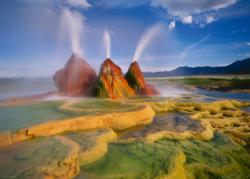 Fly Geyser Photography Jigsaw Puzzle