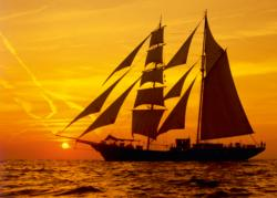 Sunny Sailing Sunrise/Sunset Jigsaw Puzzle