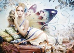 Behind The Mask Fairies Jigsaw Puzzle