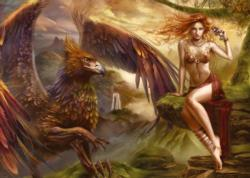 Eagle Queen Fantasy Jigsaw Puzzle