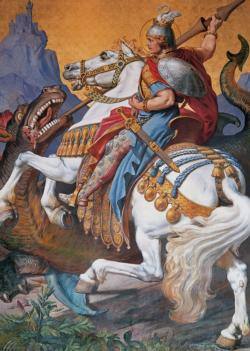 St. George Dragons Jigsaw Puzzle