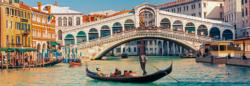 Rialto Bridge Europe Panoramic Puzzle