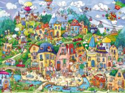 Happytown Cities Jigsaw Puzzle