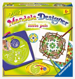 2 in 1 Mandala Designer - Little Pets Mandala Arts and Crafts