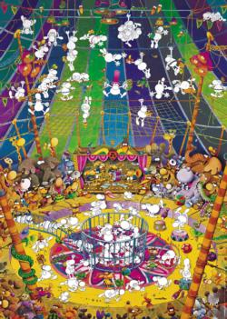 Crazy Circus Other Animals Jigsaw Puzzle