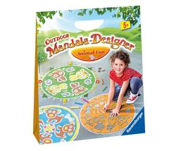 Outdoor Mandala Designer - Animal Fun Mandala Children's Coloring Books, Pads, or Puzzles