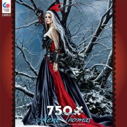 Shadows of Snow (Nene Thomas) Winter Jigsaw Puzzle
