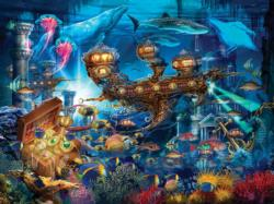 Atlantis Express (Magical World) Fish Jigsaw Puzzle