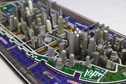 New York 4D Cityscape New York 3D Puzzle