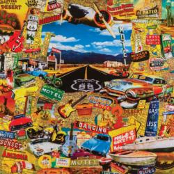On the Route Collage Jigsaw Puzzle