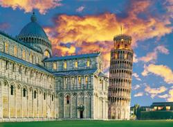 Pisa Leaning Tower of Pisa Jigsaw Puzzle