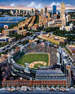 Boston Red Sox Baseball Jigsaw Puzzle