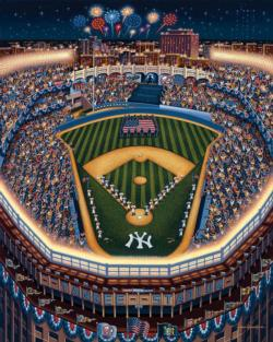 New York Yankees Baseball Jigsaw Puzzle