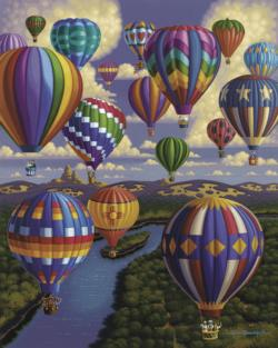Balloon Festival Lakes / Rivers / Streams Children's Puzzles