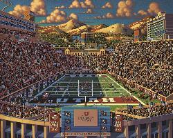 Utah Utes Sports Jigsaw Puzzle