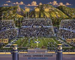BYU Cougars Sports Jigsaw Puzzle