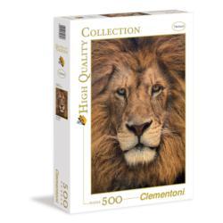 Lion Face Lions Jigsaw Puzzle