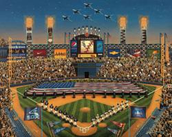 Chicago White Sox Baseball Jigsaw Puzzle