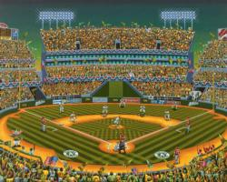 Oakland Athletics Baseball Jigsaw Puzzle