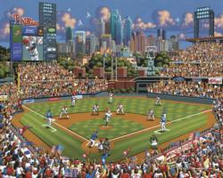 Philadelphia Phillies Baseball Jigsaw Puzzle