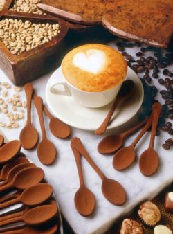 I Love Cappuccino Food and Drink Miniature