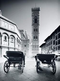 Firenze Black & White - Scratch and Dent Italy Jigsaw Puzzle
