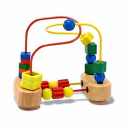 First Bead Maze Educational Toy