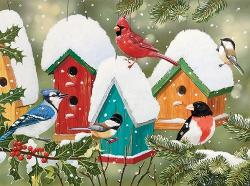 Winter Village Winter Jigsaw Puzzle