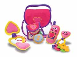 Pretty Purse Fill and Spill Pretend Play