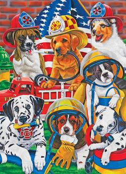 Rescue Heroes Dogs Jigsaw Puzzle