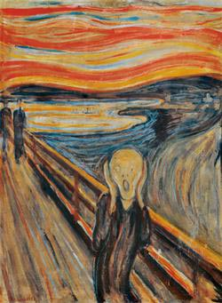 The Scream - Scratch and Dent Contemporary & Modern Art Jigsaw Puzzle