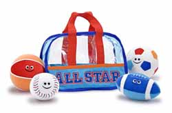 All Star Sports Bag Fill and Spill