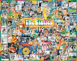 The Sixties Collage Impossible Puzzle