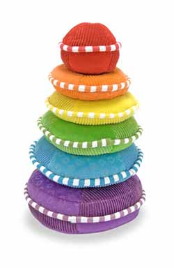Rainbow Stacker - Plush Toy