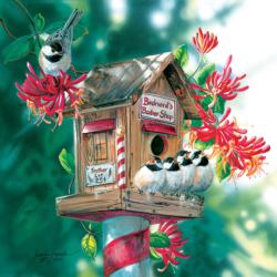 Bird-nard's Barbershop Birds Jigsaw Puzzle