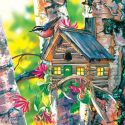 Gone Fishing Birds Jigsaw Puzzle