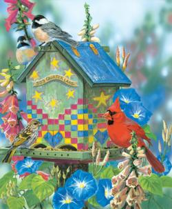 503 Quilters Lane Birds Jigsaw Puzzle