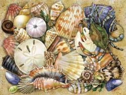 Tidal Treasures Collage Jigsaw Puzzle
