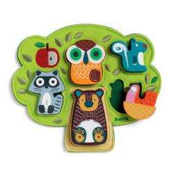 Oski Animals Chunky / Peg Puzzle