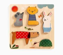Woodypets Animals Chunky / Peg Puzzle