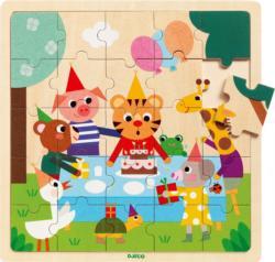 Puzzlo Happy Animals Children's Puzzles