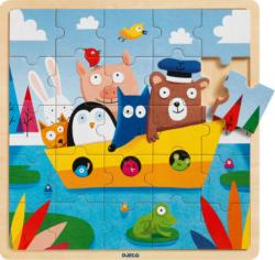 Puzzlo Boat Boats Children's Puzzles