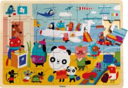 Puzzlo Airport Planes Children's Puzzles