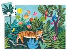 The Tiger's Walk Tigers Children's Puzzles